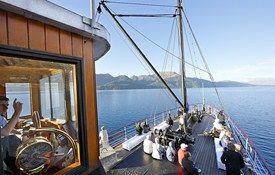 NEW ZEALAND: Queenstown- Attractions: Lake Cruises on the TSS Earnslaw