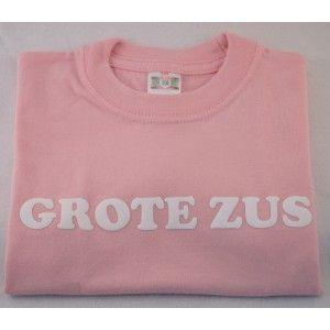 "Shirt "" Grote zus"""