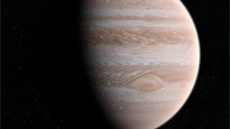 Raumsonde Juno sendet erstes Foto vom Jupiter
