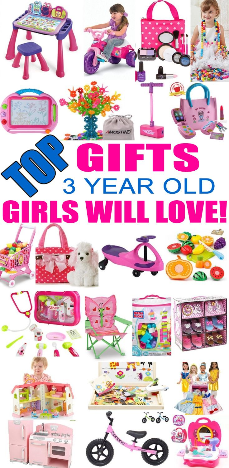 Best Gifts for 3 Year Old Girls | Gifts for 3 year old ...