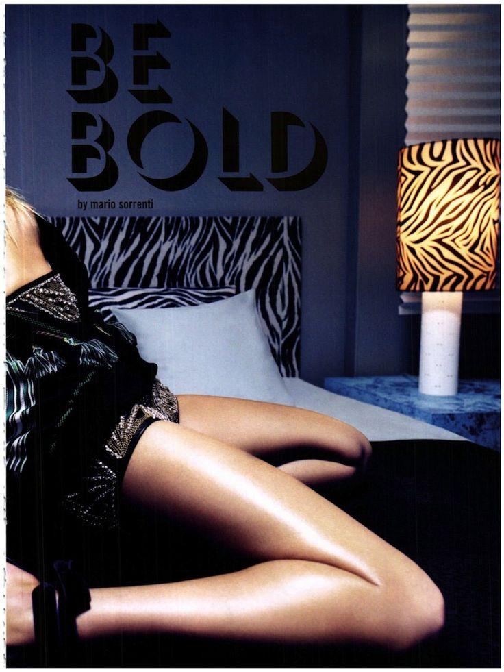 大胆なこと:2012年3月イタリアの流行のためのマリオ・ソレンティによってキャンディス・スワンポールの| 視覚的楽観主義; ファッション社説、ショー、キャンペーン&もっと!