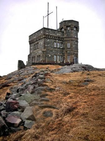 Cabot Tower: Signal Hill , St John's Newfoundland, Canada home where the first wireless signal was sent to Ireland.