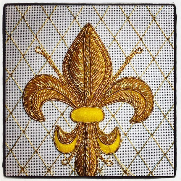 #Embroidery  --  Goldwork