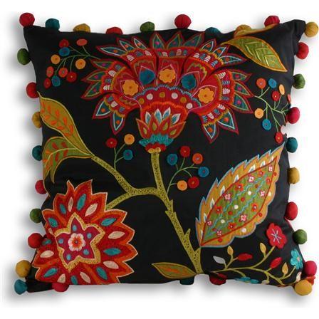 Paoletti Bengal 43x43cm Cushion, Multi