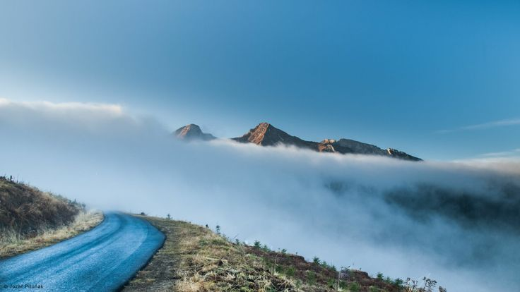 Belianske Tatry v hmle