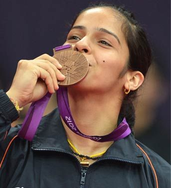 Latest World Breaking News: First Indian Badminton Bronze in Olympics : Saina Nehwal Creates History