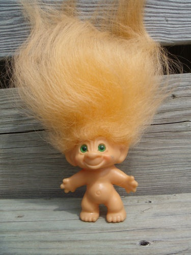Image result for troll doll blonde