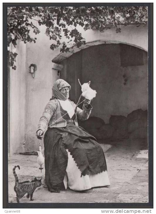 Greek Country Woman -delcampe auctions