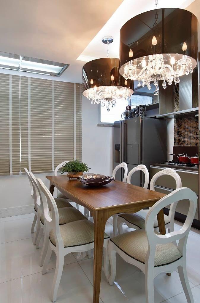 10 melhores imagens de sala de jantar no pinterest for Sala de estar kawaii