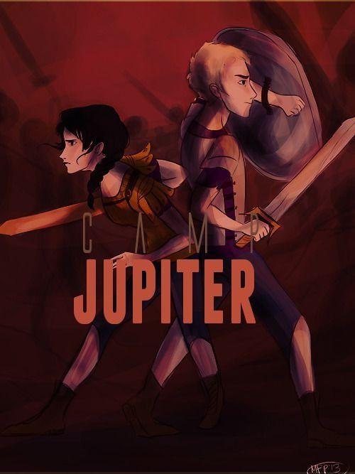Camp Jupiter , Reyna and Jason Grace