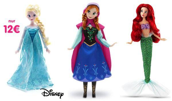 Im Disney-Store gibt es jetzt 25% Rabatt auf ausgewählte Kostüme. Mit dabei ist auch ein leuchtendes Cinderella Kostüm, für Jungs gibt es die Helden von Toy StoryalsKostüm. Außerdem bekommt ihr jetzt wunderschöne Disney-Spielpuppen für sehr günstige 12€.