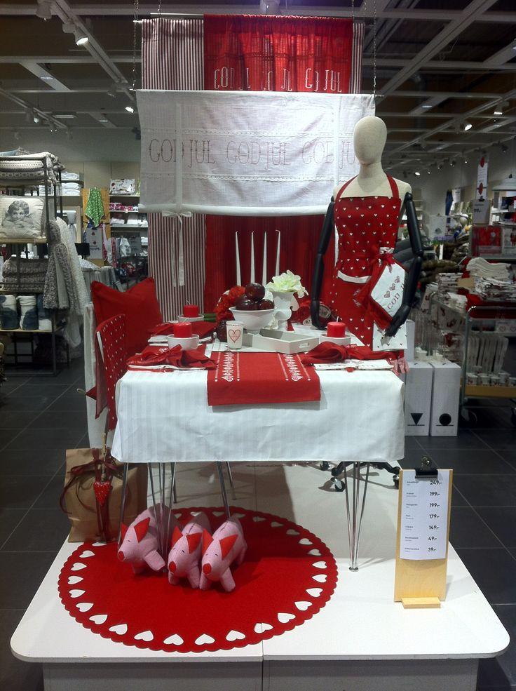 Visual merchandiser. Christmas at HEMTEX Sweden.