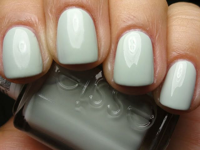 Essie - Absolutely Shore.  Perfect color for spring/summer.
