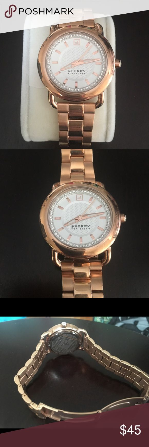 Rose Gold Sperry Watch Rose Gold Sperry Watch. Never worn. Excellent condition. Sperry Accessories Watches