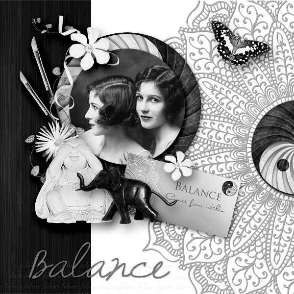 *Balance * by Dafinia Designs  http://digital-crea.fr/shop/index.php…