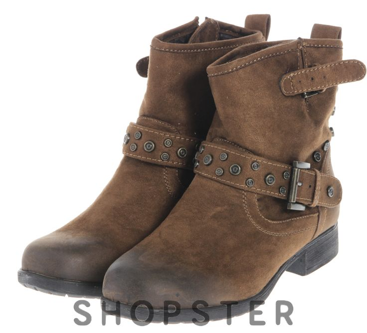 Купить Ботинки демисезонные для женщин, коричневые - Primadonna на shopster.ua