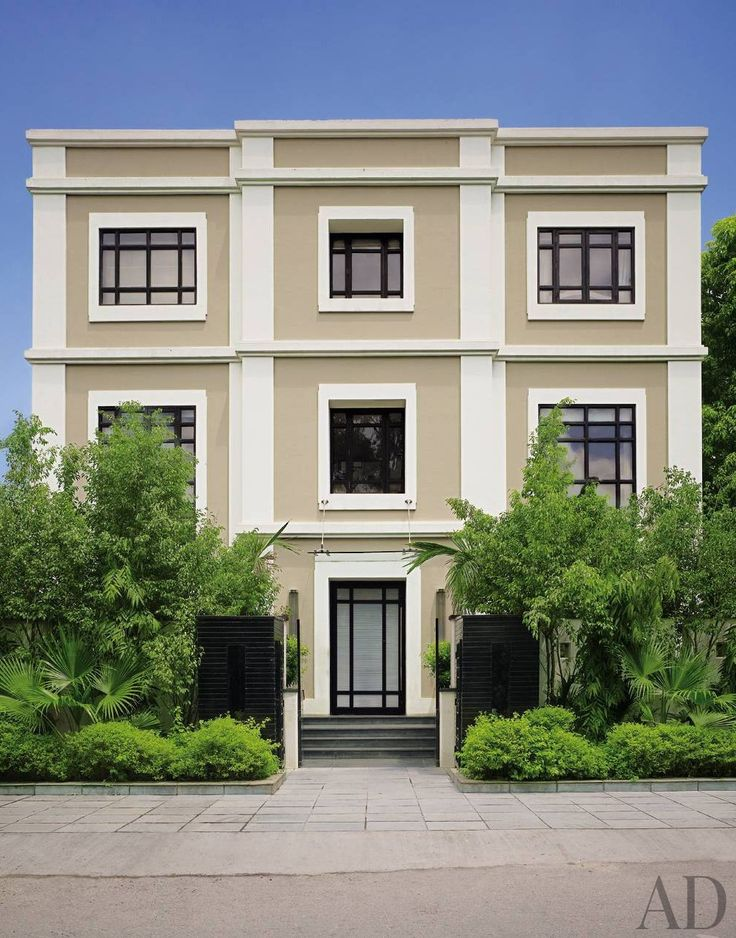 12 best exterior colour combinations images on pinterest - Indian home exterior colour combinations ...