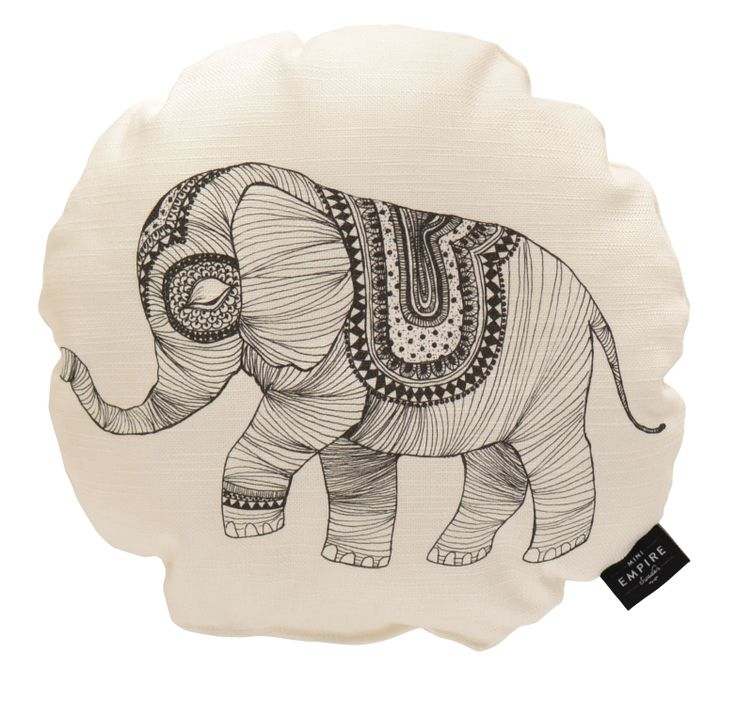 Mini Empire Elephant cushion