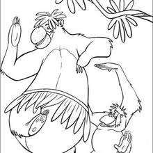 the jungle book 54 coloring page disney coloring pages the jungle book coloring - Disney Jungle Book Coloring Pages
