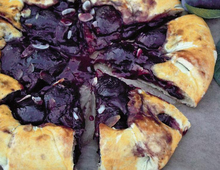Tarta rustică cu prune