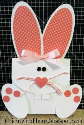 Cricut with Heart: Bunny Treat Holder; Cricut Art Philosophy; Cricut Artiste