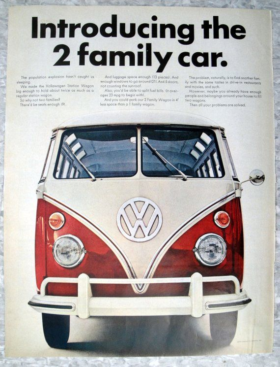 Pin On Volkswagen Ad