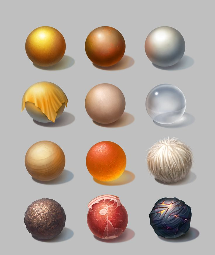 Material studies on Behance