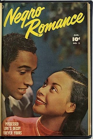 """""""Negro Romance,"""" a 1950s comic book, featured prominent positive portrayals of African Americans. #comicbooks"""