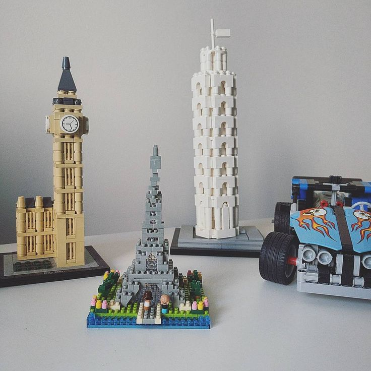 Mini Lego Eiffel Tower Sean Kenney Art With Lego Bricks Eiffel