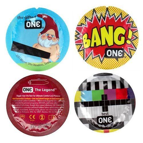 Condones marca ONE