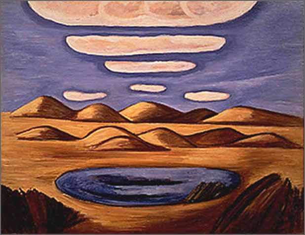 """Marsden Hartley's painting """"Grandfathers"""""""