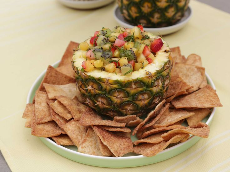 Pineapple Salsa recipe from The Kitchen via Food Network