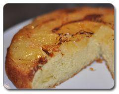 Recette gâteau renversé à l'ananas caramélisé