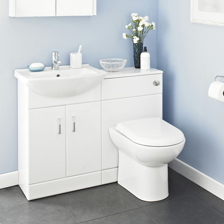Create a neat, organised bathroom with the Madison furniture pack