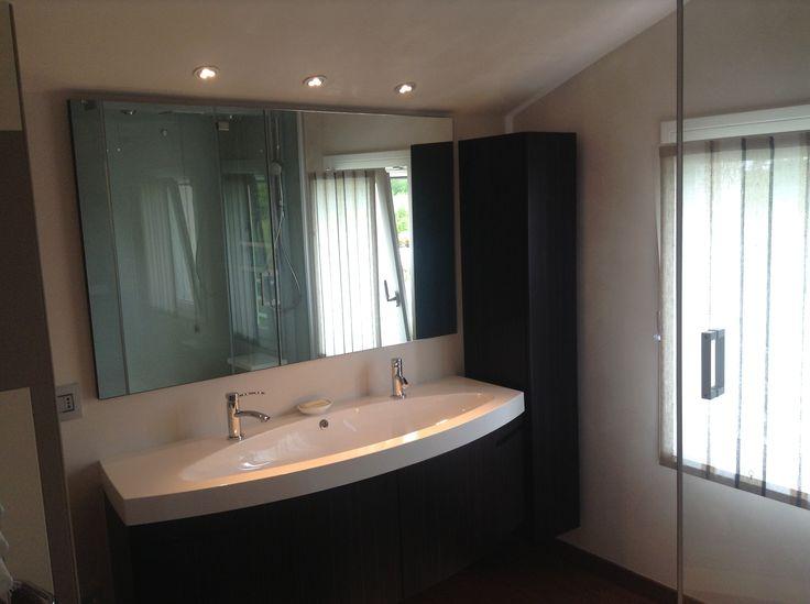 Abitazione privata #illuminazione #bagno #faretti #LED #Ligting #Design