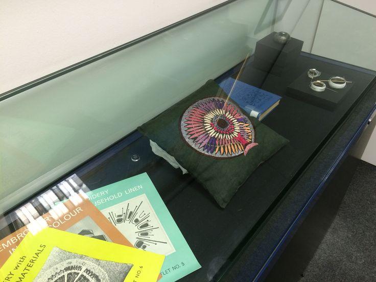 The display on GSA Library top floor