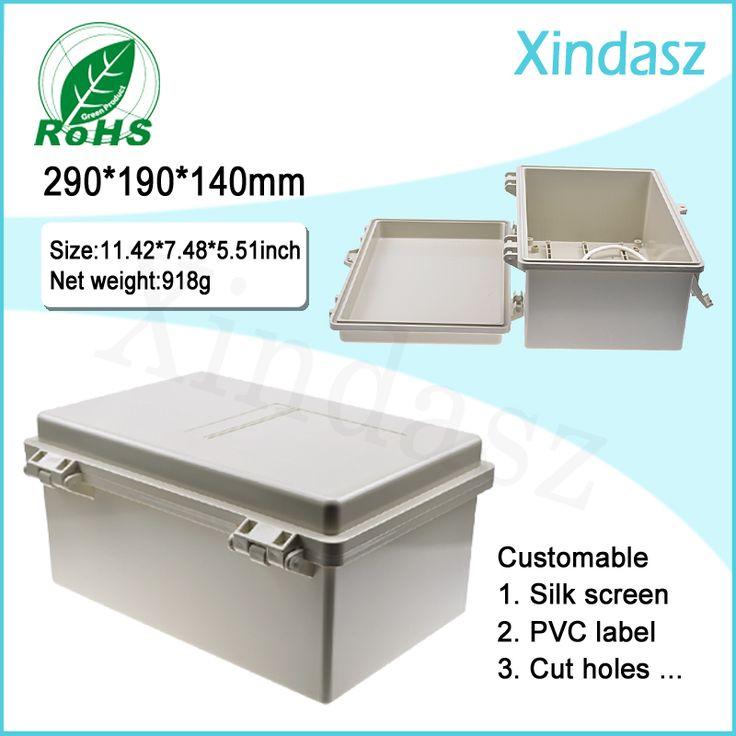 (XD-F52) 290*190*140 мм навесные пластиковые корпуса проекта ящики пластиковые электрические корпуса