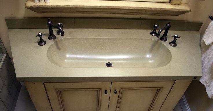 Concrete Trough Sinks | around the house | Pinterest