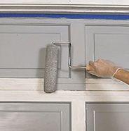 How to paint garage door
