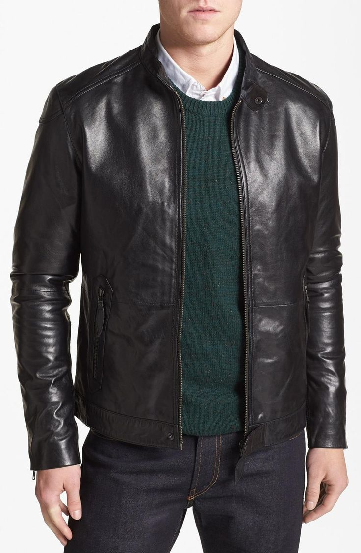 Ted Baker Leather Jacket on Pinterest. A selection of the best ...