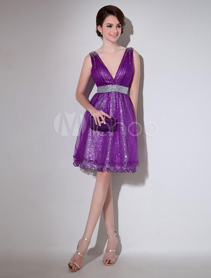 Vestidos Color Lavanda   Olivero