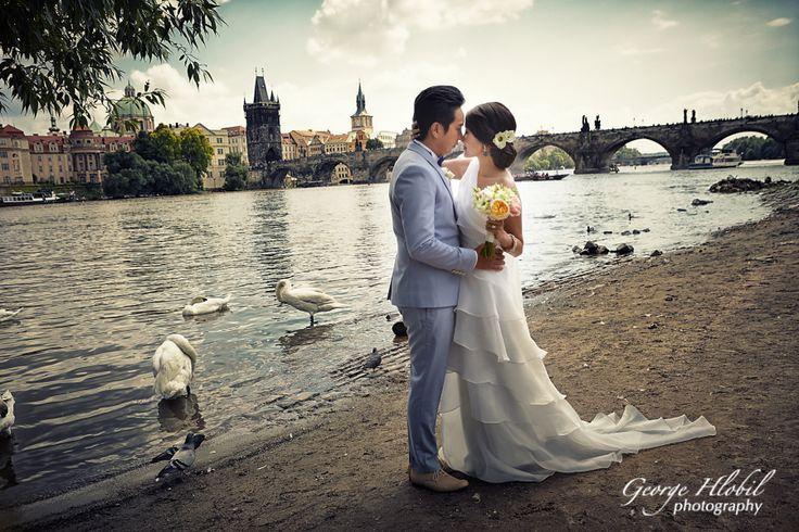 Pre-wedding photo Prague