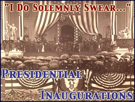 Library of Congress American Memory Collect of Presidential Inaugurations