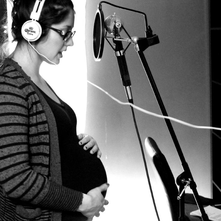 I love that every song I sing right now, feels like a duet <3 ***pregnancy/music/love/blessed