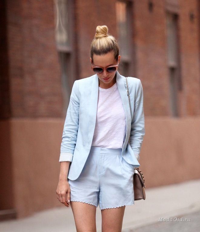 Уличная мода: Яркие блондинки снова на МодаГид.ру: летние образы 2014