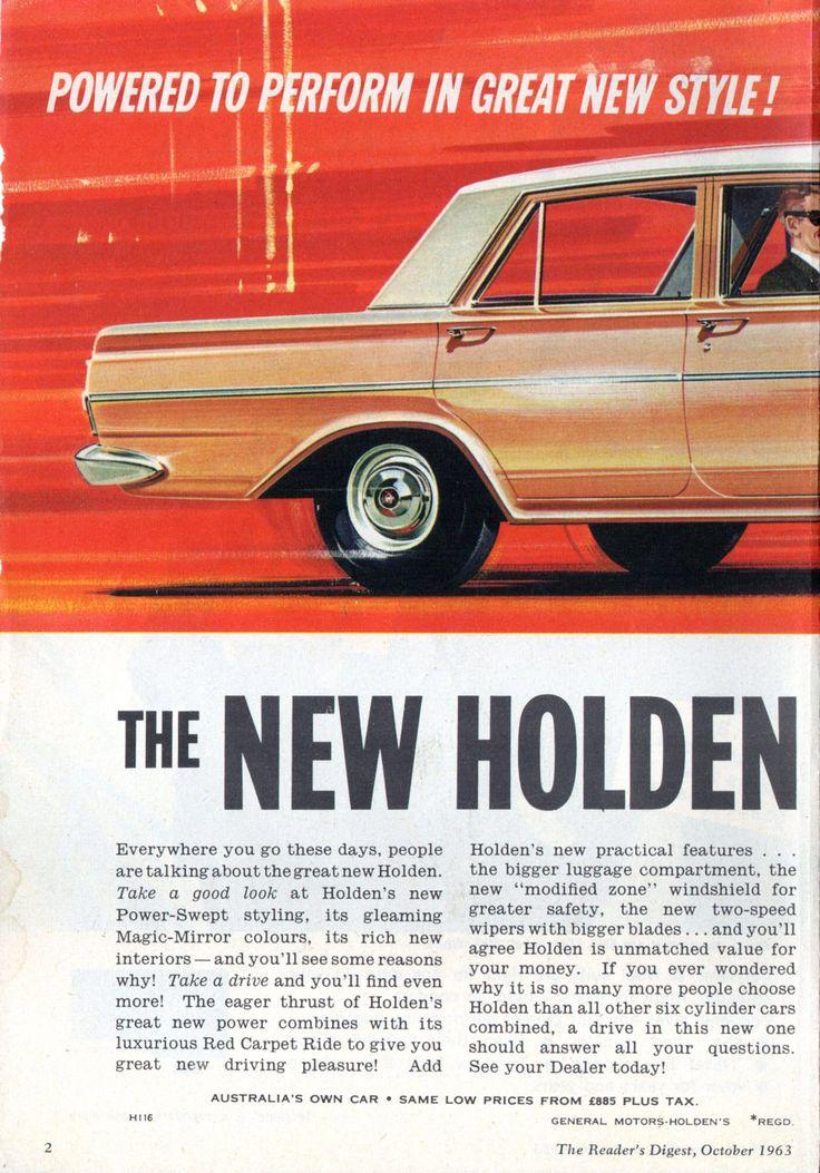 https://flic.kr/p/JFHnxx   1964 EH Holden Special Sedan 149 cu in 179cu in Six Cylinder Page 1 Aussie Original Magazine Advertisement
