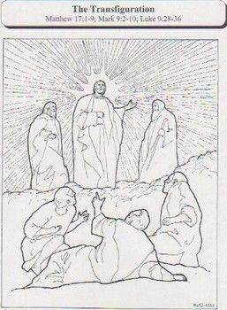 Lent 2014 coloring activity for children: 'The