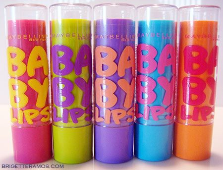 Baby lips lip balm, by Maybelline