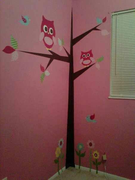 Owl Themed Baby Nursery