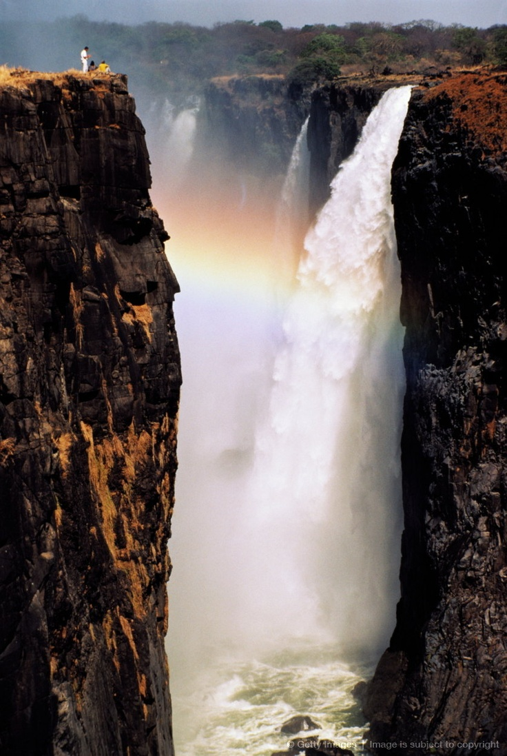 115 best victoria falls zimbabwe images on pinterest victoria zimbabwe tourists looking at victoria falls from top of gorge publicscrutiny Images